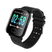 <b>a6 smart watch heart</b> rate monitor