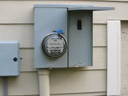 replacement of old main all fuse panel with a circut breaker panel how to turn off power to house at meter at Breaker Box Fuse Shut Off