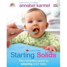 Starting Solids Canadian Edition Amazon Ca Annabel Karmel