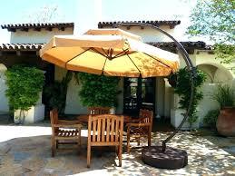 cantilever patio umbrella aluminum x offset umbrella