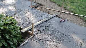 have you worked with concrete before although framing and pouring concrete only takes a few