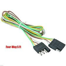 trailer wire extension 5 trailer light wire harness 4 way wire flat connector trailer light extension