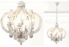 white wood chandelier white wooden round chandelier