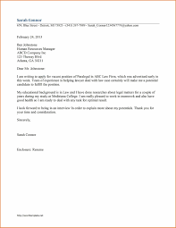 Collection Of Solutions Sample Cover Letter For Secretary Of Law