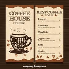 Cafe Menu Template Menu Cafe Vectors Photos And Psd Files Free Download