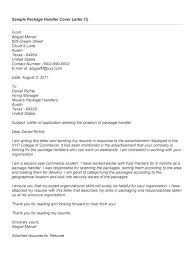 Package Handler Resume Resume Online Examples Layout Extraordinary Fedex Resume