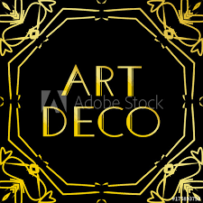Black vintage frame design Gold Vintage Art Deco Vintage Frame Or Border Luxury Design Isolated On Black Background For Logo Adobe Stock Art Deco Vintage Frame Or Border Luxury Design Isolated On Black
