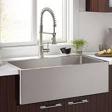 30 inch stainless steel farmhouse sink. Hillside 30 Inch Stainless Steel Kitchen Sink For Farmhouse
