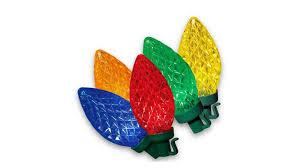 Holiday Time Cool White Led C9 Lights 100 Count Amazon Com Led C9 Christmas Light Set Multi Bulbs 100