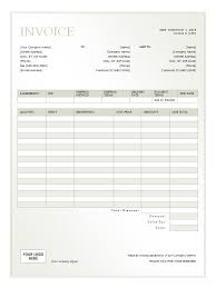 Rent Invoice Template Simple Rent Invoice Template Excel Denryoku