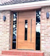 wooden front door with sidelights modern front door with sidelights modern entry doors with sidelights modern