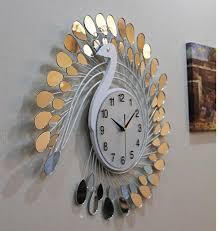 seiko wall clocks arabshare fashion peacock design silent wall clock creative craft clocks for fashion peacock design silent wall clock creative