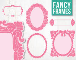 fancy frame border. Border Frame Fancy. SALE Fancy Frames Borders Digital Clipart For Scrapbooking And Crafting Instant Download T