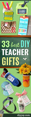 diy teacher gifts and easy presents and diy gift ideas for teachers at
