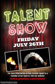Talent Show Flyers Under Fontanacountryinn Com