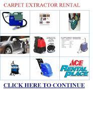 carpet extractor rental. carpet extractor rental