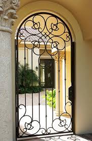 Courtyard Gates - Florida and Texas - Cantera Doors