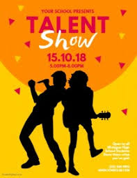 1 080 Customizable Design Templates For Talent Show Postermywall