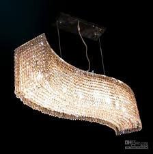 high quality modern long crystal chandelier length 115cm re led living room dinning room lights fixtures canada 2018 from daisy8814