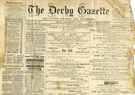 Victorian Era Newspaper Template Newspaper Sun My Blog