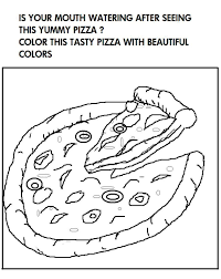 Small Picture Download Coloring Pages Pizza Coloring Pages I Am A Pizza