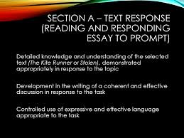 year exam review language analysis section a text  2 section