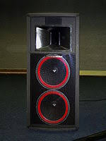 cerwin vega cerwin vega dual 15 inch speaker cabinet