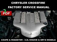 chrysler crossfire service manual chrysler crossfire 2004 2008 factory service repair manual wiring diagram