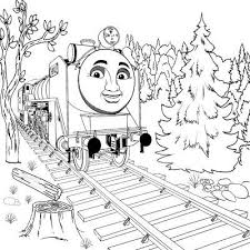 Thomas The Tank Engine Coloring Pages Hiro Cartoon Coloring Pages