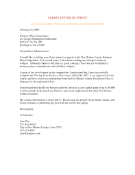 Format For Business Letter Of Intent Fresh Letter Intent Business ...