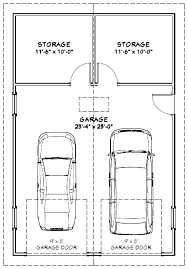surprising 2 car garage dimensions standard 2 car garage size typical 2 car garage size full