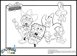 Spongebob Printable Coloring Pages Printable Coloring