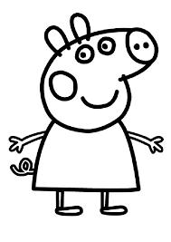 Disegni Di Peppa Pig Da Stampare E Colorare Pianetabambiniit
