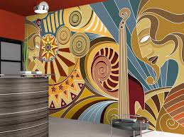 office wallpaper design. Black And White Wallpaper Pattern Office Design