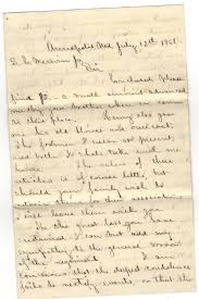 touching gettysburg letter of condolence civil war voices ier