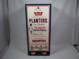 Mr Peanut Vending Machine Amazing Vtg Planters Dry Roasted Nuts Mr Peanut Rowntree Smarties