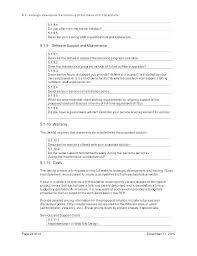 Software Support Agreement Template Maintenance Contract