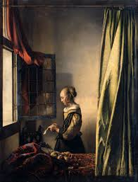 Vermeer Painter Of Light Girl Reading A Letter At An Open Window Wikipedia