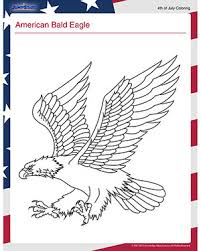 Small Picture American Bald Eagle Free July 4th Coloring Page for Kids JumpStart