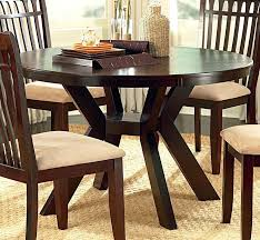 48 inch round pedestal table round dining table set with leaf zagonsco