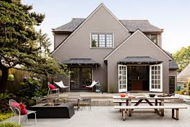choosing exterior home color patio