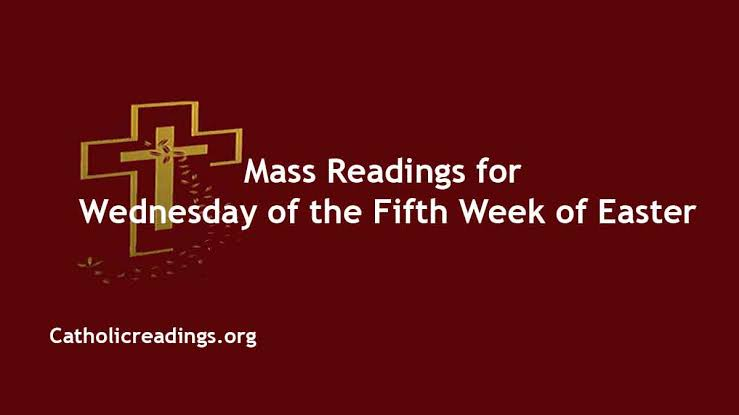 Catholic Wednesday 5 May 2021 Daily Mass Reading Online