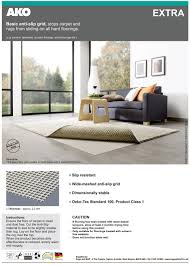 our hard floor specialist rug anti slip gripper underlay for hard floors offers a simple effective and convenient anti slip solution for preventing rugs