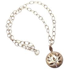 anthony nak diamond gold tree of life pendant link necklace for