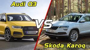 audi q3 neu 2018. perfect audi 2017 audi q3 vs 2018 skoda karoq comparison with audi q3 neu