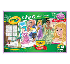 Small Picture Giant Coloring Pages Disney Princess Crayola