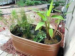 gallon galvanized metal tub copper stock tank water garden purchase a and spray paint with home