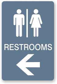 restroom signs. Wonderful Restroom Directional Restroom Sign With Signs