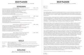 Extraordinary Good Resume Should Look Like Also What Should A