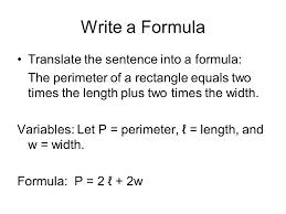 write a formula translate the sentence into a formula